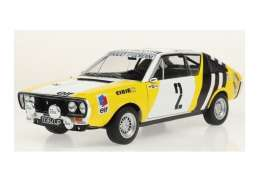 Renault  - R17 MK1 white-yellow-black - 1:18 - Solido - 1803702 - soli1803702 | Toms Modelautos