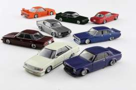 Assortment/ Mix  - 1:64 - Aoshima - 10721 - abk10721 | Toms Modelautos