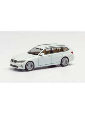 BMW  - 3 series touring white - 1:87 - Herpa - herpa420839 | Toms Modelautos