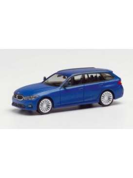 BMW  - 3 series touring blue - 1:87 - Herpa - herpa430821 | Toms Modelautos