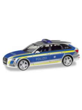Audi  - A4 avant silver/blue - 1:87 - Herpa - herpa095501 | Toms Modelautos
