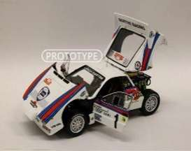 Lancia  - Rally 037 1983 white/red/blue - 1:18 - Kyosho - 8306A - kyo8306A | Toms Modelautos
