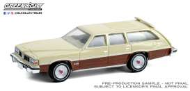 Pontiac  - Grand LeMans Safari 1976 cream/wood - 1:64 - GreenLight - 36010D - gl36010D | Toms Modelautos