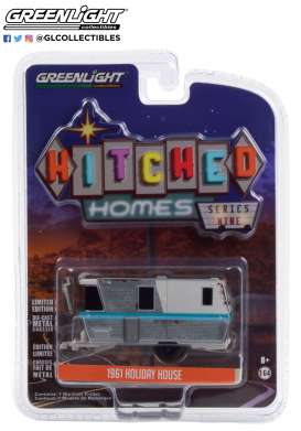 Holiday House  - 1961 weathered - 1:64 - GreenLight - 34090A - gl34090A | Toms Modelautos