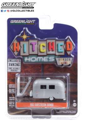 Airstream  - Bambi grey - 1:64 - GreenLight - 34090F - gl34090F | Toms Modelautos