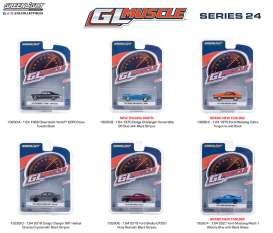 Assortment/ Mix  - various - 1:64 - GreenLight - 13290 - gl13290 | Toms Modelautos