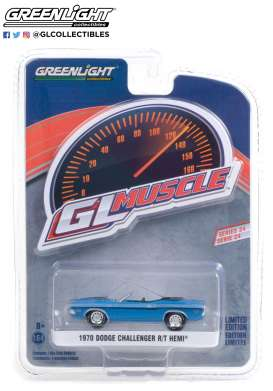 Dodge  - Challenger 1970 blue - 1:64 - GreenLight - 13290B - gl13290B | Toms Modelautos
