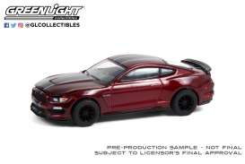 Ford  - Shelby GT350 2019 red - 1:64 - GreenLight - 13290E - gl13290E | Toms Modelautos