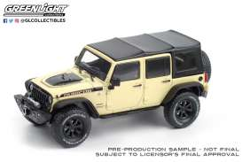 Jeep  - Wrangler 2018 gobi - 1:43 - GreenLight - 86188 - gl86188 | Toms Modelautos
