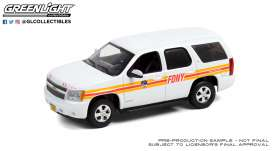 Chevrolet  - Tahoe 2011 white - 1:43 - GreenLight - 86189 - gl86189 | Toms Modelautos