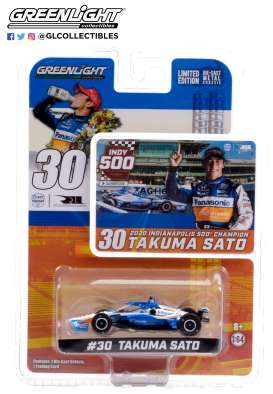Honda  - Indy Car Takuma Sato 2020 white/blue/orange - 1:64 - GreenLight - 10884 - gl10884 | Toms Modelautos