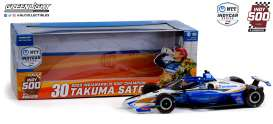 Honda  - Indy Car Takuma Sato 2020 white/blue/orange - 1:18 - GreenLight - 11101 - gl11101 | Toms Modelautos