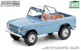 Ford  - Bronco 1969 blue - 1:18 - GreenLight - 19099 - gl19099 | Toms Modelautos