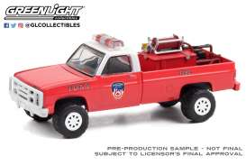 Chevrolet  - M1008 1986 red - 1:64 - GreenLight - 30240 - gl30240 | Toms Modelautos