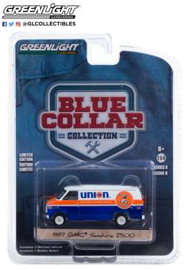 GMC  - Vandura 1987  - 1:64 - GreenLight - 35180E - gl35180E | Toms Modelautos