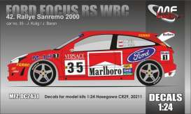 Ford  - Focus RS 2000  - 1:24 - MF Zone - MFZ-DC2431 - MFZDC2431 | Toms Modelautos