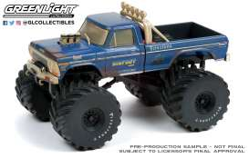 Ford  - F-250 Monster Truck 1974 dirty version - 1:43 - GreenLight - 88041 - gl88041 | Toms Modelautos