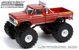 Ford  - F-250 Monster Truck 1979  - 1:43 - GreenLight - 88042 - gl88042 | Toms Modelautos