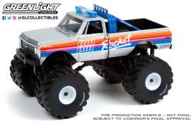 Chevrolet  - K-10 Monster Truck 1972  - 1:43 - GreenLight - 88043 - gl88043 | Toms Modelautos