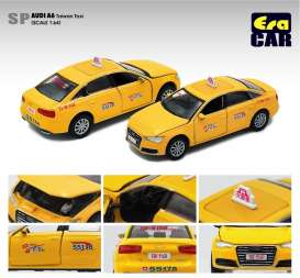 Audi  - A6 yellow - 1:64 - Era - AU20A6SP23 - Era20A6SP23 | Toms Modelautos