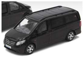 Mercedes Benz  - Vito 2020 black - 1:64 - Era - MB20VITRN36 - Era20VITRN36 | Toms Modelautos