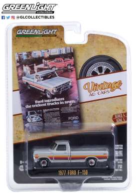Ford  - F-150 1977 grey - 1:64 - GreenLight - 39060B - gl39060B | Toms Modelautos