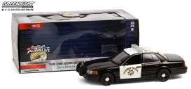 Ford  - Crown Victoria 2008 white/black - 1:24 - GreenLight - 85523 - gl85523 | Toms Modelautos