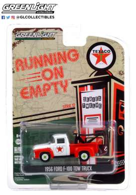 Ford  - F-100 1956 red/white - 1:64 - GreenLight - 41120B - gl41120B | Toms Modelautos