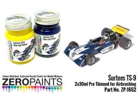 Zero Paints Paint - yellow/blue - Zero Paints - ZP-1652 - ZP1652 | Toms Modelautos