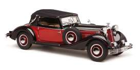 Horch  - 853 red/black - 1:12 - CMC - C-010 - cmcC010 | Toms Modelautos