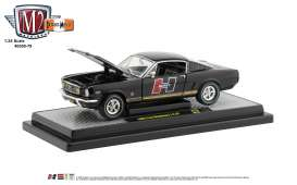 Ford Mustang - 1966 black - 1:24 - M2 Machines - 40300-79A - M2-40300-79A | Toms Modelautos