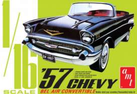 Chevrolet  - Bel Air Convertible 1957  - 1:16 - AMT - s1159 - amts1159 | Toms Modelautos