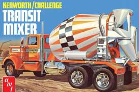 Kenworth  - Challenge Transit cement mixer  - 1:25 - AMT - s1215 - amts1215 | Toms Modelautos