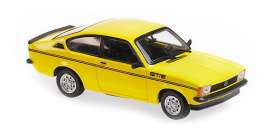 Opel  - 1978 yellow - 1:43 - Maxichamps - 940048120 - mc940048120 | Toms Modelautos