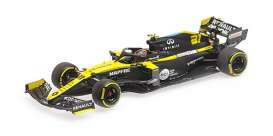 Renault  - R.S.20 2020 black/yellow - 1:43 - Minichamps - 417200131 - mc417200131 | Toms Modelautos