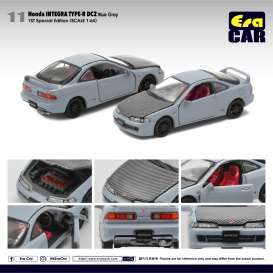 Honda  - Integra Type R DC2 blue-grey/black - 1:64 - Era - HA20DC2RF11 - Era20DC2RF11 | Toms Modelautos