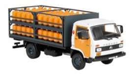 Pegaso  - Ekus 1988 orange/black/white - 1:43 - Magazine Models - magPub001 | Toms Modelautos
