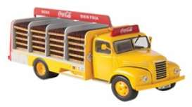 Ebro  - B-45 1962 yellow/red - 1:43 - Magazine Models - magPub003 | Toms Modelautos