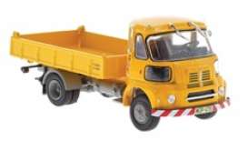 Sava  - BMC S-66 1962 yellow - 1:43 - Magazine Models - magPub004 | Toms Modelautos