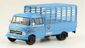Mercedes Benz  - L319 1963 blue - 1:43 - Magazine Models - magPub005 | Toms Modelautos