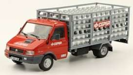 Pegaso  - Daily 1994 red/grey - 1:43 - Magazine Models - magPub008 | Toms Modelautos