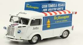 Citroen  - Type H 1959 white/blue - 1:43 - Magazine Models - magPub010 | Toms Modelautos
