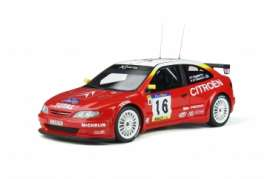 Citroen  - Xsara 1999 white/red - 1:18 - OttOmobile Miniatures - OT337 - otto337 | Toms Modelautos