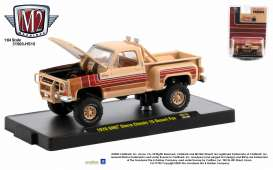 GMC  - Sierra 1976 buckskin/red - 1:64 - M2 Machines - 31500HS15 - M2-31500HS15 | Toms Modelautos