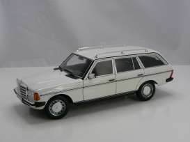 Mercedes Benz  - S123 white - 1:18 - Norev - 183733 - nor183733 | Toms Modelautos