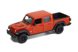 Jeep  - Rubicon 2019 orange - 1:24 - Welly - 24103 - welly24103o | Toms Modelautos