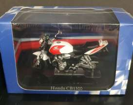 Honda  - CB1300 white/red/black - 1:24 - Magazine Models - 4110120 - mag4110120 | Toms Modelautos