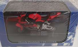 Honda  - Fireblade red/black - 1:24 - Magazine Models - 4110101 - mag4110101 | Toms Modelautos