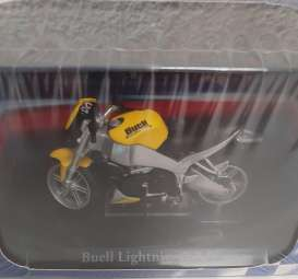 Buell  - Lightning XB-9S yellow/black/silver - 1:24 - Magazine Models - 4110113 - mag4110113 | Toms Modelautos