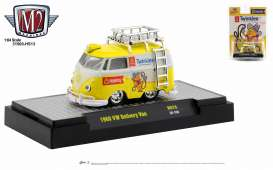 Volkswagen  - Delivery 1960 white/yellow - 1:64 - M2 Machines - 31500HS13 - M2-31500HS13 | Toms Modelautos